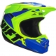SHIFT CASCO ASSAULT RACE YELLOW/BLUE 16